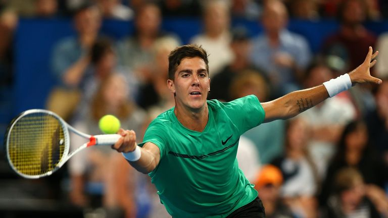 Thanasi Kokkinakis is back on tour after several injury issues