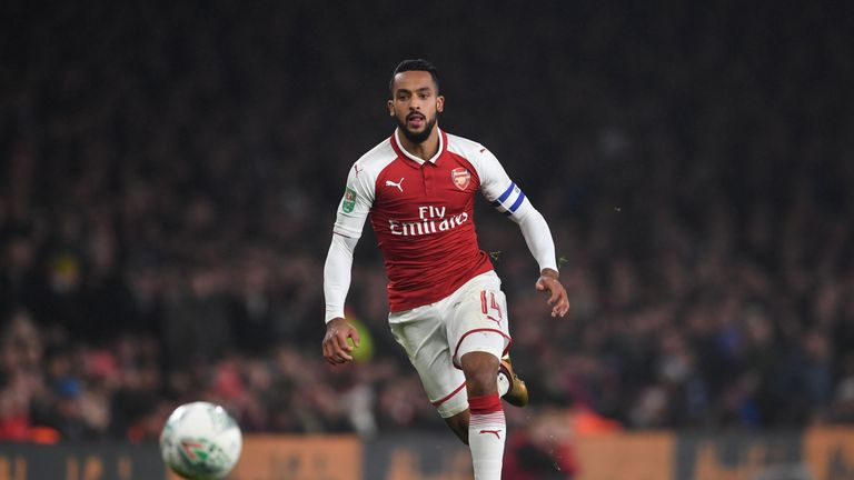 Sam Allardyce says Everton are in talks with Arsenal for the signing of Theo Walcott