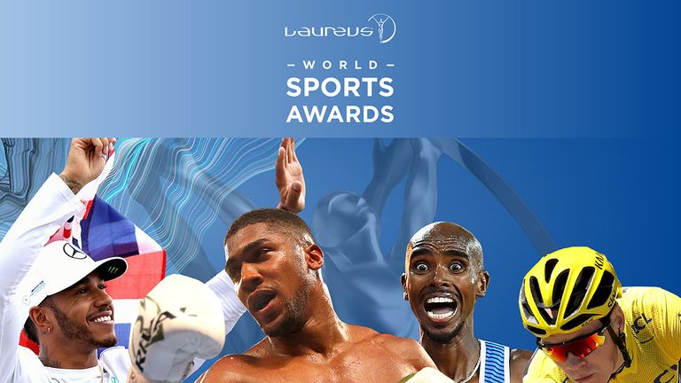 Farah and Froome up for Laureus Sports Award