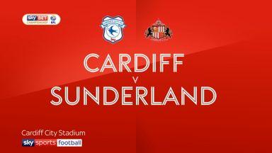 Cardiff 4-0 Sunderland