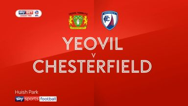 Yeovil 1-2 Chesterfield