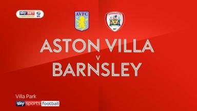 Aston Villa 3-1 Barnsley