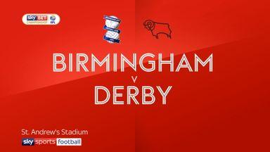 Birmingham 0-3 Derby