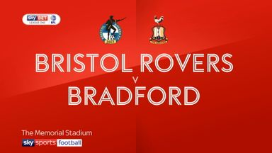 Bristol Rovers 3-1 Bradford
