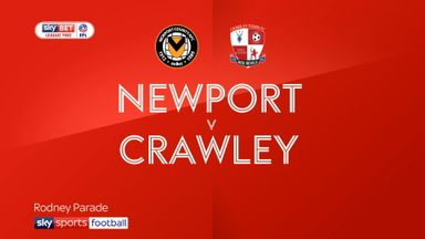 Newport 2-1 Crawley