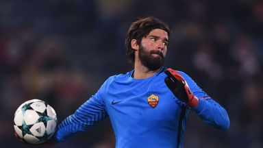 fifa live scores - Liverpool target Alisson to remain at Roma, says club president James Pallotta