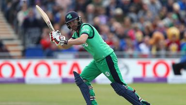 Andrew Balbirnie scored 67 in Ireland