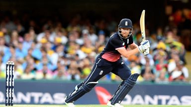 Jonny Bairstow cracked his sixth ODI fifty in England's win in Brisbane