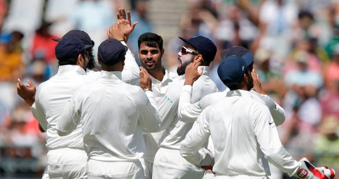 Sensational India claim consolation victory in third test v S Africa