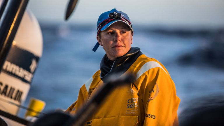 Annalise Murphy is part of the Turn the Tide on Plastic crew having won a silver medal at the 2016 Olympics