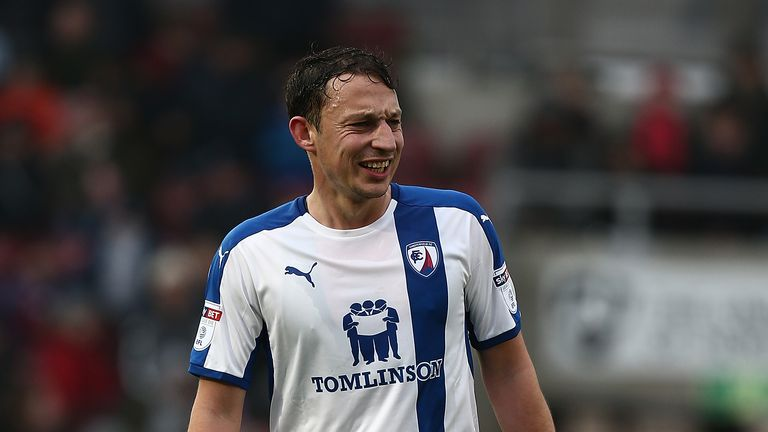 Kristian Dennis has scored 15 goals in all competitions for Chesterfield this season
