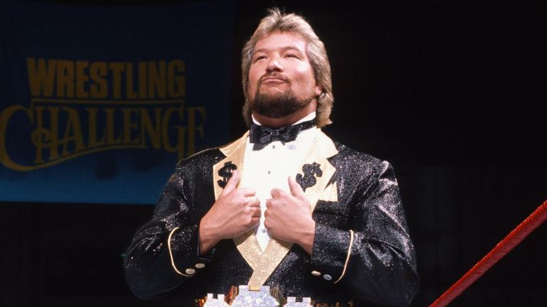 Ted Dibiase returns to Raw for their 25th anniversary show on Sky Sports Arena at 1am