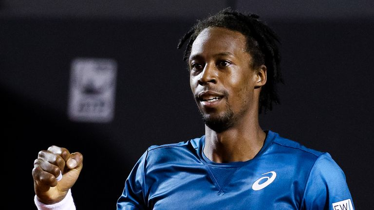 Gael Monfils ended Marin Cilic's hopes at the Rio Open