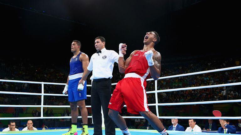 Yoka beat GB's Joe Joyce to win Olympic gold