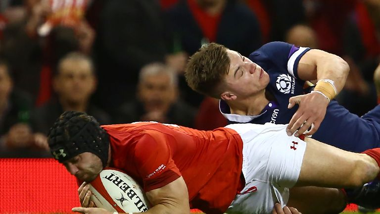 Wales thrash Scotland in Six Nations