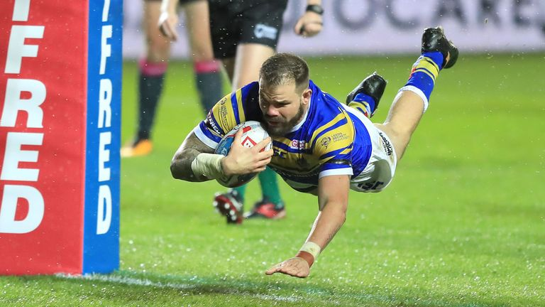 Adam Cuthbertson opened the try-scoring for the home side