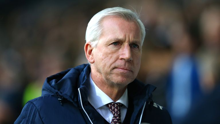 Alan Pardew's West Brom are being cut adrift at the bottom of the Premier League