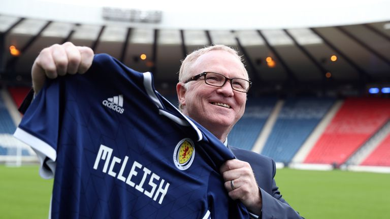 McLeish has taken charge of Scotland for the second time