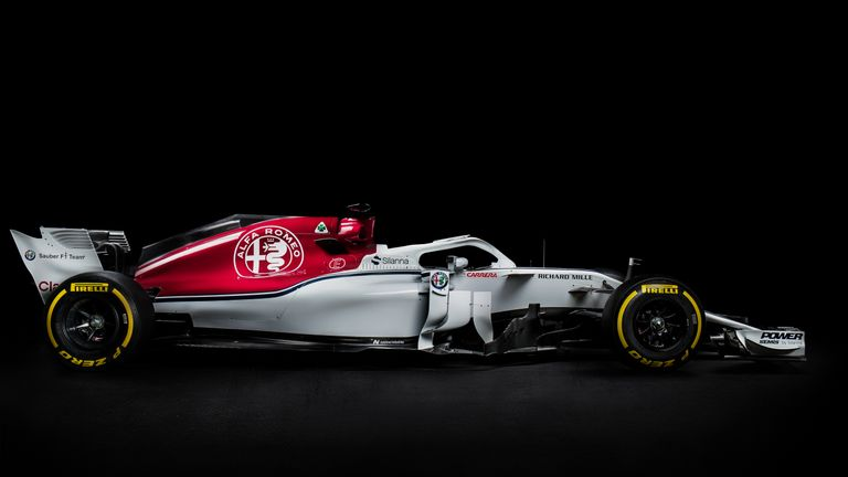 sauber unveil first f1 car with alfa romeo the c37 for 2018 season f1 news. Black Bedroom Furniture Sets. Home Design Ideas
