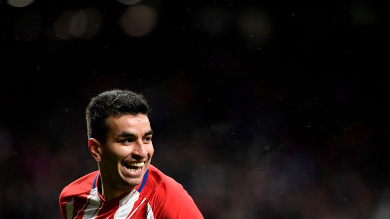 Atletico Madrid's Angel Correa is among the top performers this week
