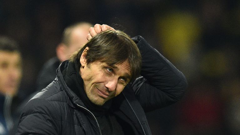 Conte has made it clear he is unhappy with some of the arrangements at Stamford Bridge
