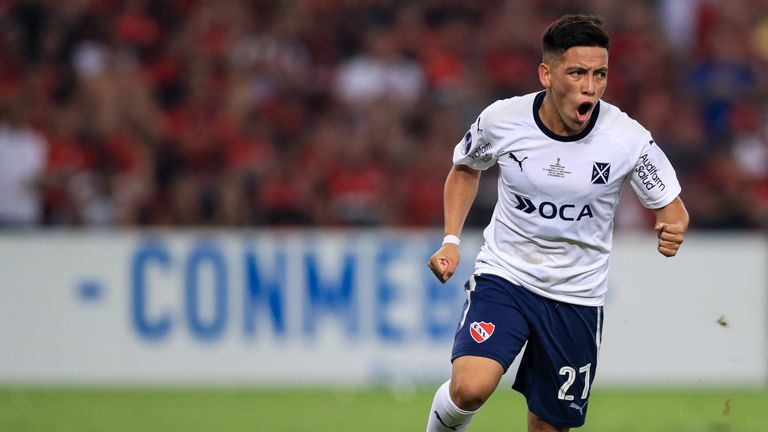 Atlanta have signed 18-year-old Ezequiel Barco for a league-record fee