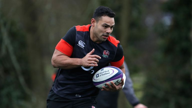 Ben Te'o has made 14 appearances for England since his debut in 2016