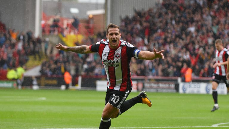 Billy Sharp hit a late winner for Sheffield United