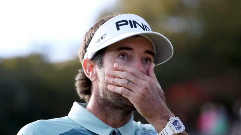 An emotional Bubba Watson celebrated his 10th career title on the PGA Tour