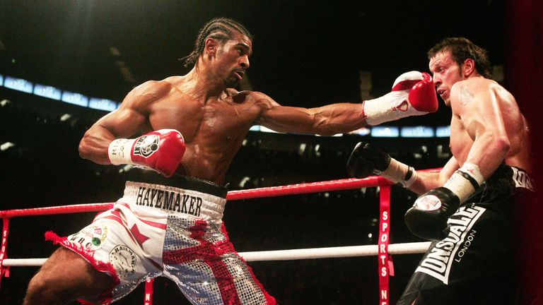 Britain's David Haye has retired from boxing - 13-Jun