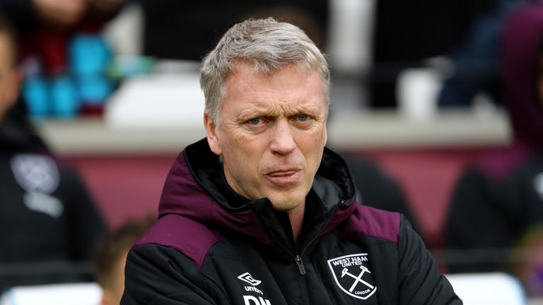 David Moyes left the Hammers on Wednesday at the end of his short-term contract