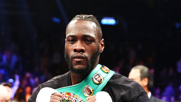 Deontay Wilder is awaiting an offer for the Joshua fight