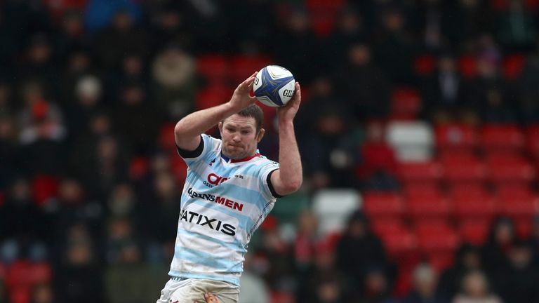 Ryan has settled in superbly in Paris with Racing 92