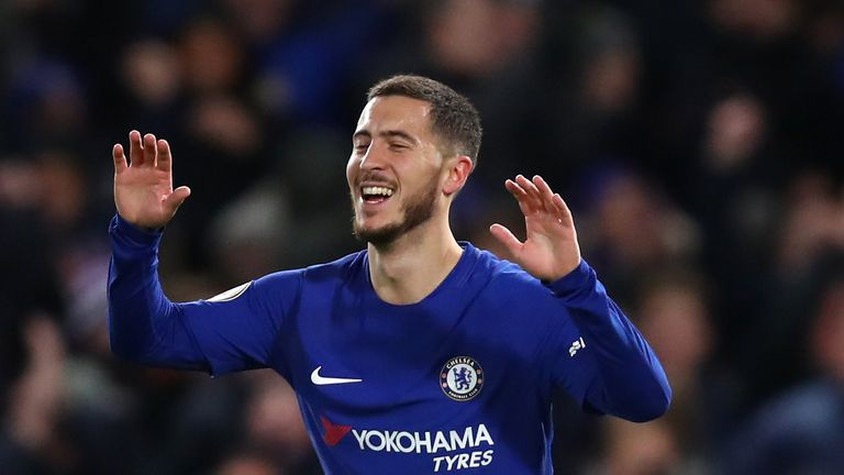 Eden Hazard Has Played Down Reports Linking Him With A Move Away From Chelsea At The