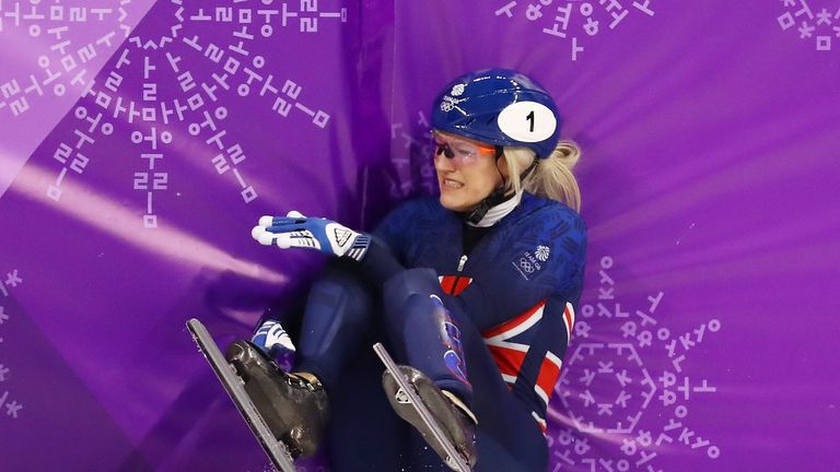 Elise Christie has failed to pick up a medal in six events across two Winter Olympics