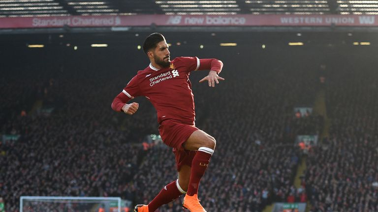 Can is out of contract at Anfield in the summer and is yet to commit his future to the Reds