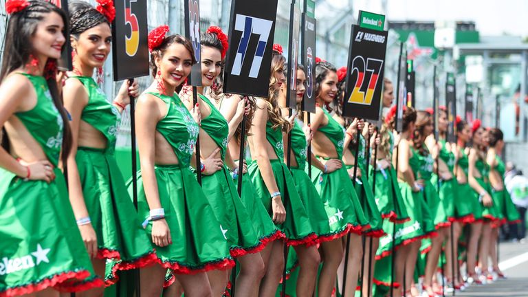 Formula 1 brings in 'grid kids' scheme to replace girls