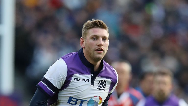 Finn Russell's 6 Nations place versus England 'never in doubt