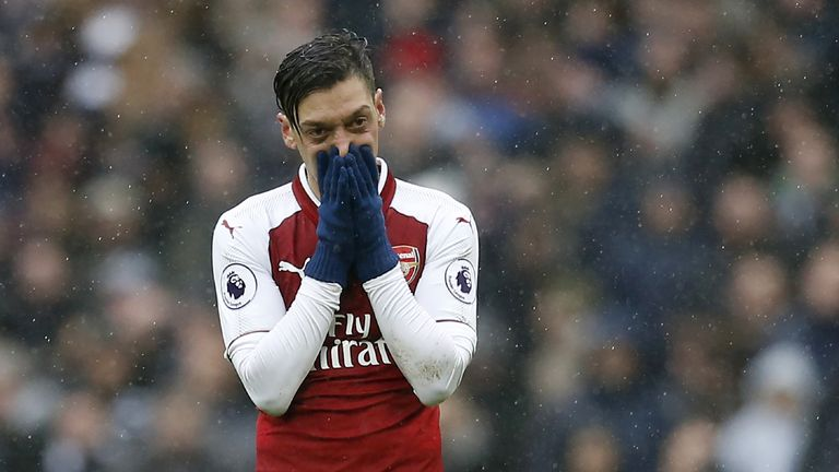 Mesut Ozil will play against Ostersunds, Arsene Wenger confirmed