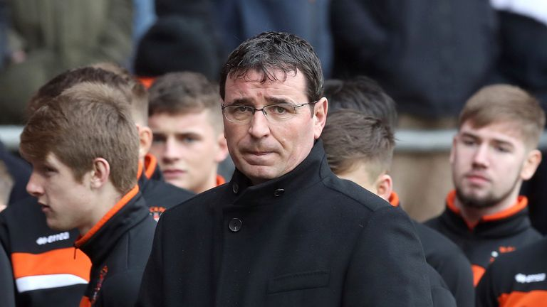 Gary Bowyer has left Blackpool