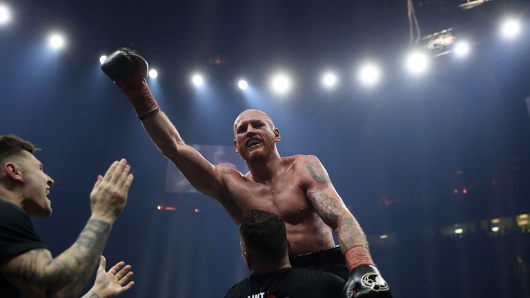 George Groves beat Chris Eubank Jr via unanimous decision