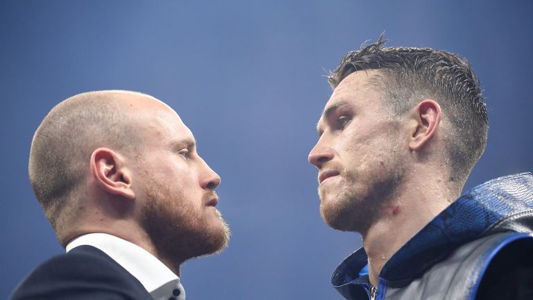 Groves and Smith are due to fight in the series final this summer