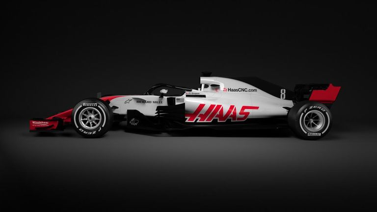 Haas Remain The Lone American Based Outfit In Formula 1 Although Much Of  The Work On Their 2018 Car Will Have Been Completed At Their Factory In  Banbury, ...