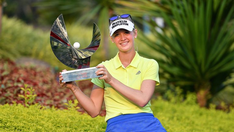 Korda shoots course-record 62 to lead LPGA Thailand