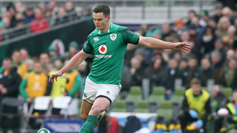 Johnny Sexton says Ireland must take their opportunity 'with both hands'