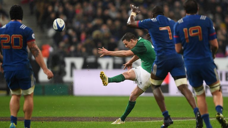 SIX NATIONS RUGBY: Ireland snatch dramatic victory in Paris