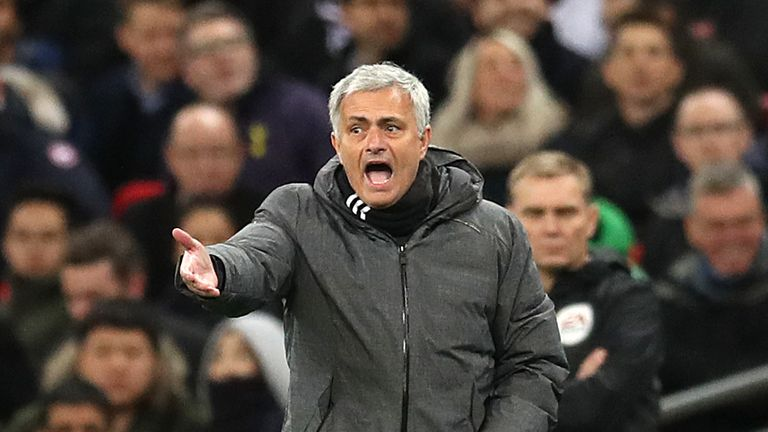 Jose Mourinho's United won 2-0 against Huddersfield