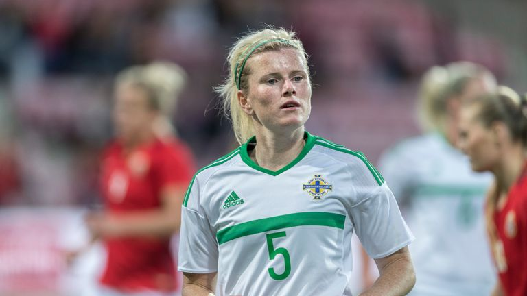 Julie Nelson has played over 60 times for Northern Ireland - who have never reached a major tournament