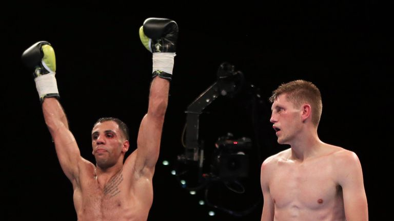 Cunningham was beaten on points by Kal Yafai down at super-flyweight