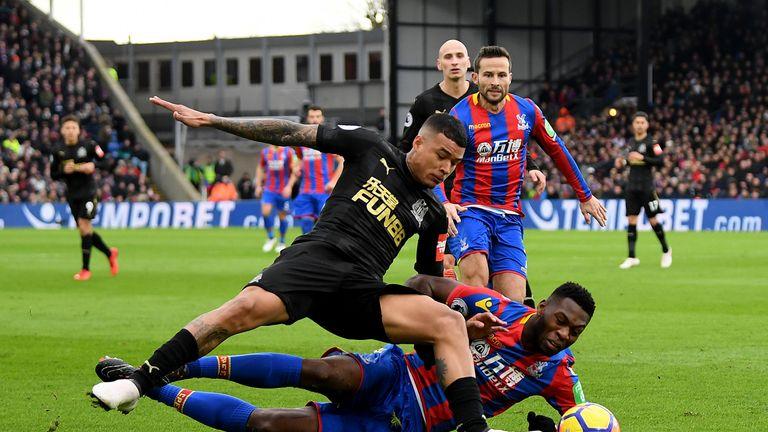 Kenedy joined Newcastle on loan from Chelsea in January